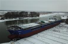 Первый из восьми сухогрузов проекта РSD 32M спустили на воду в Нижегородской области