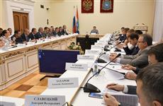 Дмитрий Азаров провел совет по улучшению инвестклимата в регионе