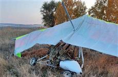 При жесткой посадке мотодельтаплана в Кинель-Черкасском районе пострадал один человек