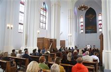После реставрации в костеле состоялся концерт органной музыки