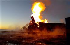 Скважина самарской компании горит в Оренбуржье