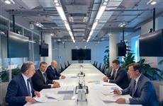 В Москве состоялась встреча Дмитрия Азарова и Виталия Мутко