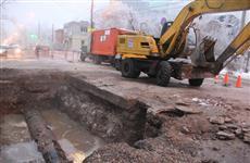 В десятках домов Самары - проблемы с водой из-за повреждения трубы на ул. Мориса Тореза