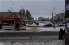 В Самаре водитель маршрутного автобуса сбил на переходе женщину