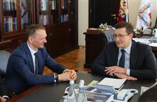 """Глеб Никитин обсудил с президентом корпорации """"Технониколь"""" планы по созданию биатлонного комплекса"""