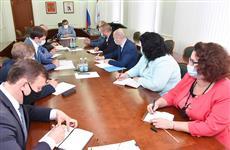 В Доме Правительства обсудили строительство паромной переправы в поселке Юрино