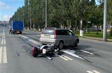 Двое мотоциклистов пострадали в ДТП в Сызрани и Самаре