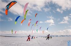 В Тольятти прошел этап Кубка мира по сноукайтингу