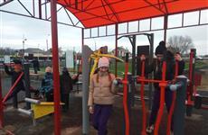 В пос. Рубежный появилось новое пространство для спорта и отдыха