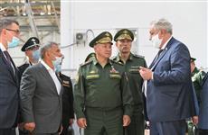 Министр обороны РФ Сергей Шойгу посетил Казанский авиационный завод