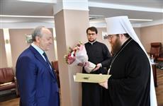 Губернатор Валерий Радаев встретился с митрополитом Саратовским и Вольским Игнатием