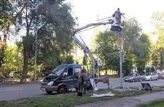 На пересечении улиц Владимирской и Чернореченской устанавливают светофор