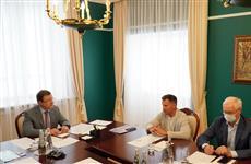 Дмитрий Азаров и Алексей Немов обсудили строительство центра спортивной гимнастики в Тольятти