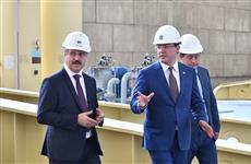 Дмитрий Азаров обсудил с руководством Жигулевской ГЭС планы модернизации и работу предприятия