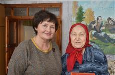 90-летний юбилей отметили жители Аликовского района Раиса Федорова и Евдокия Макарова