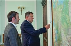 Евгений Серпер обсудил с Рашидом Сайбаталовым развитие железнодорожной инфраструктуры