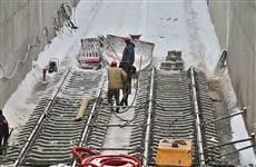 Строительство путепровода для трамваев под ул. Дальней завершено