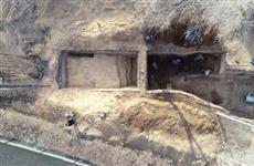 На месте строительства Фрунзенского моста археологи нашли старинную посуду и монеты XIX века