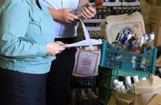 В Самаре уничтожили 94 литра алкоголя без документов