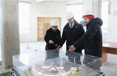 Губернатор и гендиректор Третьяковки обсудили ход строительства филиала в Самаре