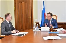Дмитрий Азаров и Владимир Богатырев обсудили работу Самарского университета в рамках НОЦ