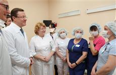 Губернатор Дмитрий Азаров встретился с врачами тольяттинской больницы №5