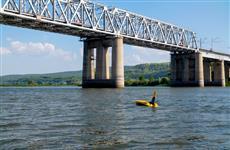 """НаКуйбышевской железной дороге испытали надводно-подводного робота """"Глайдерон"""""""