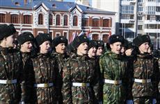 """В """"Марше Устинова"""" на площади Куйбышева приняли участие около двух тысяч ребят"""