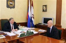 У главы Мордовии были подведены итоги работы в 2018 г. Ковылкинского электромеханического завода