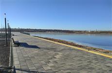 Сызранские власти и общественники оценили красоту новой набережной города