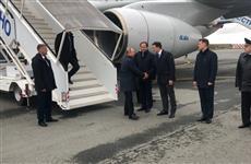 Владимир Путин прибыл в Нижегородскую область