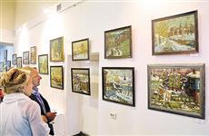 "Галерея ""Вавилон"" открыла юбилейную выставку Николая Лукашука"