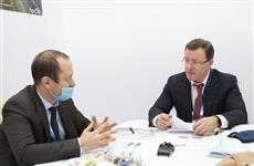 Губернатор обсудил с компанией из Санкт-Петербурга внедрение в регионе водного электротранспорта