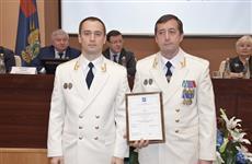 Алмаза Хусаинова наградили за безупречную службу
