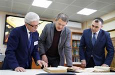 Радий Хабиров передал Национальному архиву мемуары участников Великой Отечественной войны