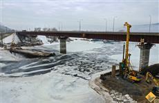 Началось строительство фундамента нового моста через Сок