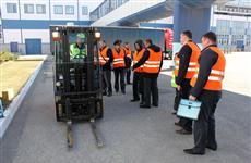 """""""Балтика-Самара"""" поделилась передовым опытом безопасной эксплуатации складского автотранспорта"""
