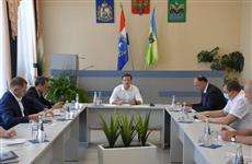 Дмитрий Азаров обсудил реализацию нацпроектов в Красноярском районе
