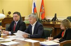 Павел Колобков и Глеб Никитин провели рабочую встречу в Москве