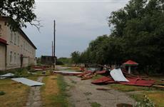 В Самарской области ураган повредил крышу детского сада