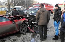 Водитель Jaguar, протаранивший несколько автомобилей в Самаре, получил год ограничения свободы