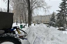 В Самаре вывезено уже более 10,5 тыс. т снега