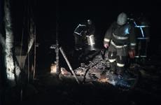 При пожаре в Волжском районе погибли женщина и трое детей