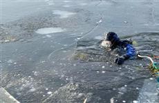В Чапаевске рыбак провалился под лед