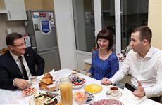В новое общежитие Самарского университета въезжают первые новоселы