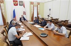 Артем Здунов провел совещание по вопросам модернизации жилищно-коммунальной инфраструктуры
