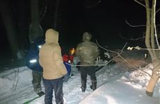 Спасателям пришлось эвакуировать 24 рыбака под Новокуйбышевском
