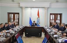 """Глава региона встретился с руководством компании """"Газпром"""""""