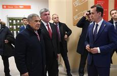 Рустам Минниханов посетил центральный офис МФЦ в Набережных Челнах