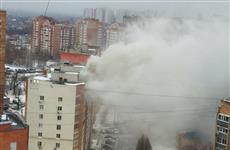 Из-за пожара в квартире на 5 просеке эвакуировано 38 человек